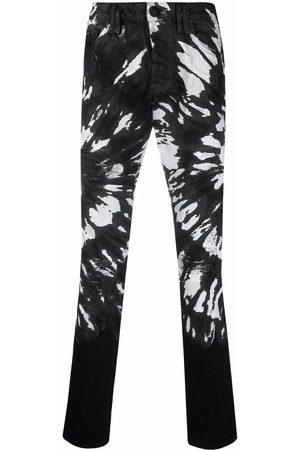 Philipp Plein Super Straight Cut tie-dye jeans