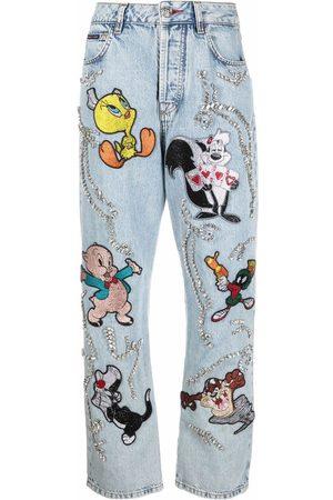 Philipp Plein Looney Tunes loose-cut jeans
