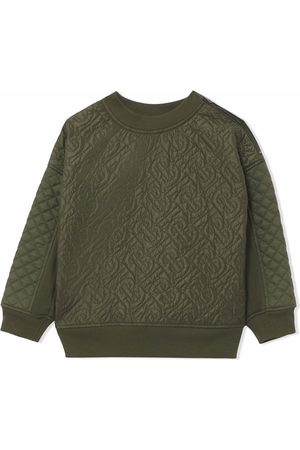 Burberry Monogram quilted sweatshirt