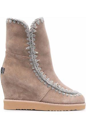Mou Dames Enkellaarzen - Wedge ankle boots