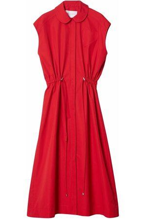 Carolina Herrera Sleeveless drawstring-waist dress