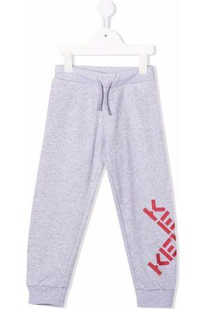 Kenzo Joggingbroeken - Logo-print track pants