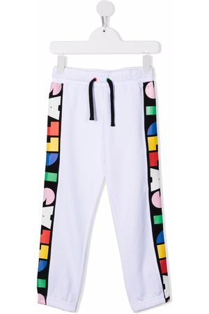 Stella McCartney Logo-stripe track pants