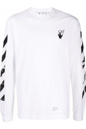 OFF-WHITE Heren T-shirts - Caravaggio Arrows long-sleeve T-shirt