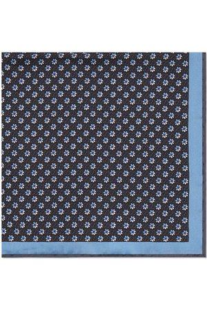 Gucci Heren Vlinderdassen - GG floral-print silk pocket square