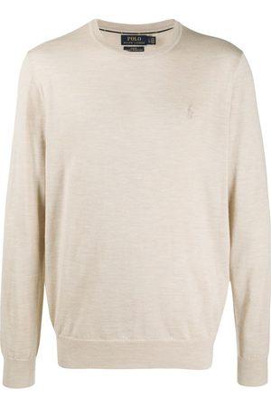 Polo Ralph Lauren Heren Gebreide truien - Embroidered logo wool pullover