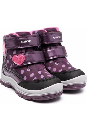 Geox Flanfil heart-print ankle boots
