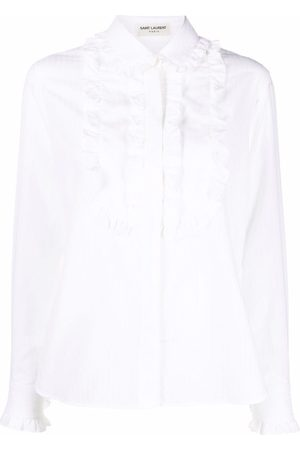 Saint Laurent Ruffle-detail shirt