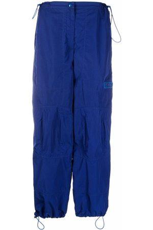 Stella McCartney Drawstring high-waist trousers