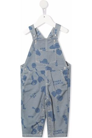 KNOT Baby Salopetten - Abstract print dungarees