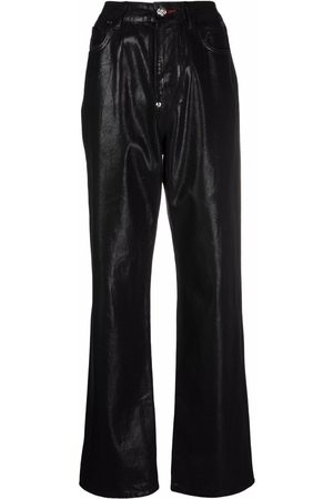 Philipp Plein Iconic Plein loose-denim jeans