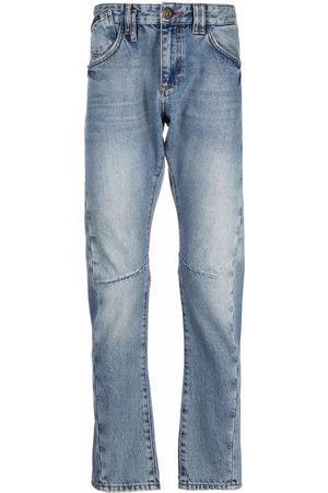 Philipp Plein Heren Straight - Milano-cut straight-leg jeans