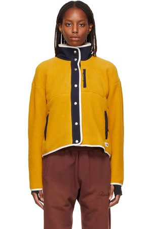 The North Face Dames Outdoorjassen - Yellow Fleece Cragmont Jacket