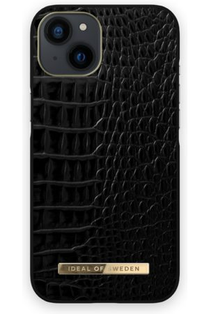 IDEAL OF SWEDEN Telefoon hoesjes - Atelier Case iPhone 13 Neo Noir Croco