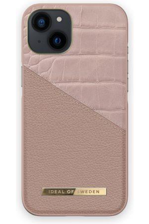 IDEAL OF SWEDEN Telefoon hoesjes - Atelier Case iPhone 13 Rose Smoke Croco