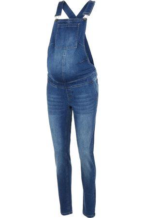 Mama Licious Dames Broeken - Tuinbroek jeans 'Texas