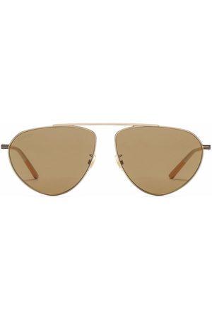 Gucci Tinted-lense aviator sunglasses