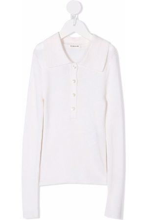 P.a.r.o.s.h. Meisjes Lange mouw - Long-sleeved wool polo top