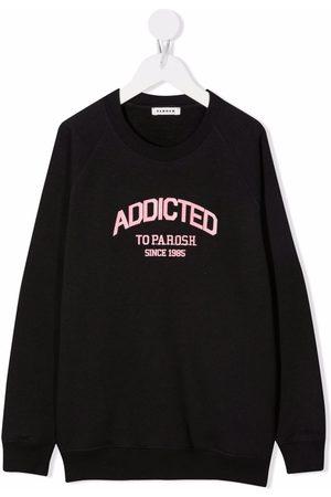 P.a.r.o.s.h. Logo-print cotton sweatshirt