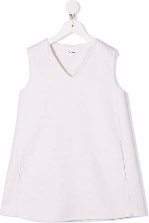 P.a.r.o.s.h. V-neck sleeveless dress