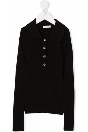 P.a.r.o.s.h. Long-sleeved wool polo top