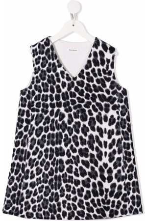 P.a.r.o.s.h. Leopard-print V-neck dress