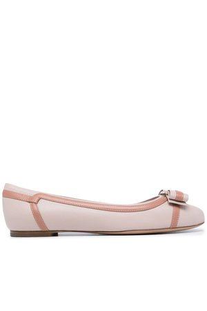 Salvatore Ferragamo Dames Instappers - Vara stripe ballerina shoes