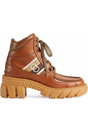 Gucci Dames Enkellaarzen - Interlocking G ankle boots