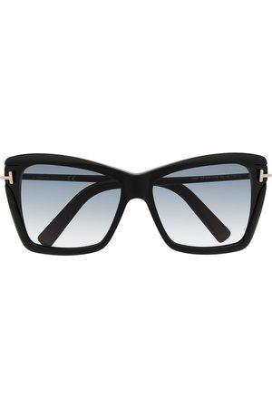 Tom Ford Cat eye gradient sunglasses