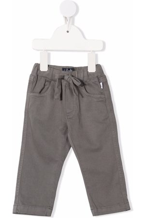Il gufo Chino's - Drawstring-fastening waist trosuers