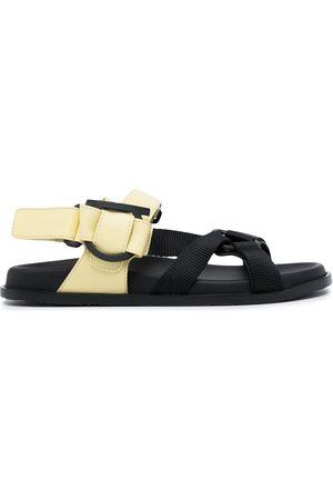Salvatore Ferragamo Gancini touch-strap sandals