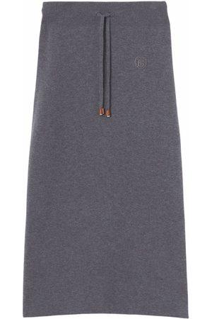 Burberry Monogram Motif pencil skirt