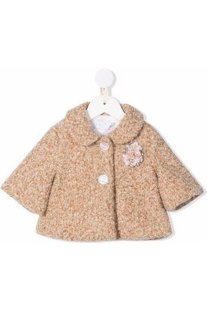 COLORICHIARI Flower-applique jacket