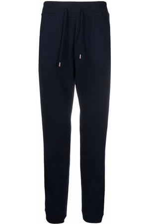 BRUNO MANETTI Drawstring-waist wool track trousers