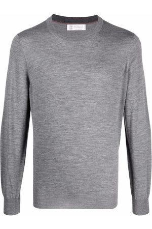 Brunello Cucinelli Crewneck cashmere-wool jumper