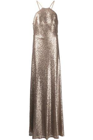 Marchesa Notte Varena sequin gown
