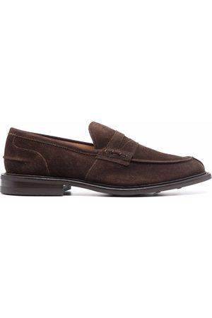 TRICKERS Suede slip-on loafers