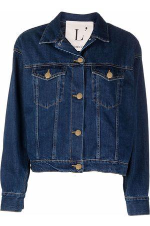 L'Autre Chose Dames Donsjassen - Classic denim jacket