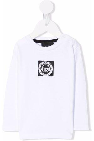 John Richmond Junior Sweaters - Logo-print T-shirt