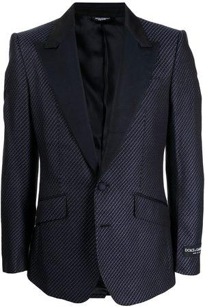 Dolce & Gabbana Silk single-breasted blazer