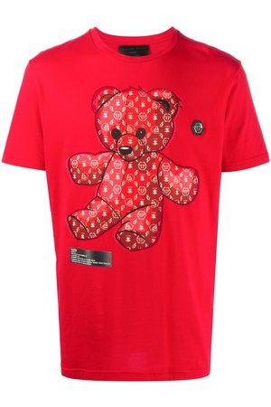 Philipp Plein Short sleeve Teddy Bear mascot T-shirt