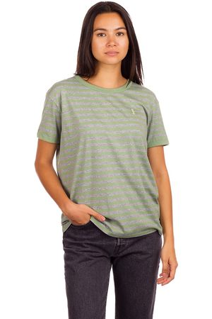 Coal Dames Korte mouw - Jetty T-Shirt grijs
