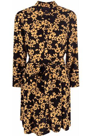 Pinko Floral-print long-sleeve dress