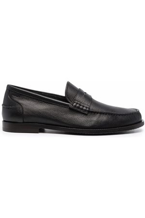 Bally Heren Loafers - Kebler pebbled leather loafers