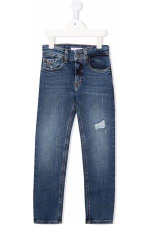 Calvin Klein Jongens Jeans - Ripped-detail jeans