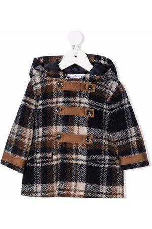 COLORICHIARI Donsjassen - Check print duffle coat