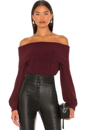 Bobi Dames Sweaters - BLACK Fuzzy Sweater in