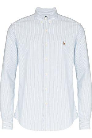 Polo Ralph Lauren Logo-embroidered striped shirt