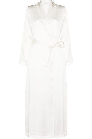 La Perla Dames Ondermode - Tied waist silk robe