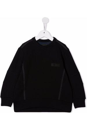 Il gufo Chest logo-patch sweatshirt